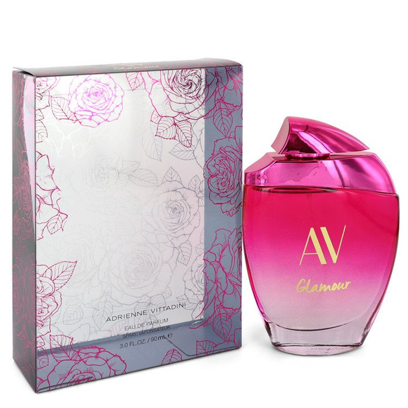 AV Glamour Charming by Adrienne Vittadini Eau De Parfum Spray 3 oz for Women