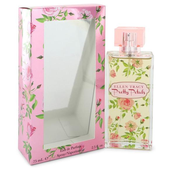 Pretty Petals Feeling Blissful by Ellen Tracy Eau De Parfum Spray 2.5 oz for Women