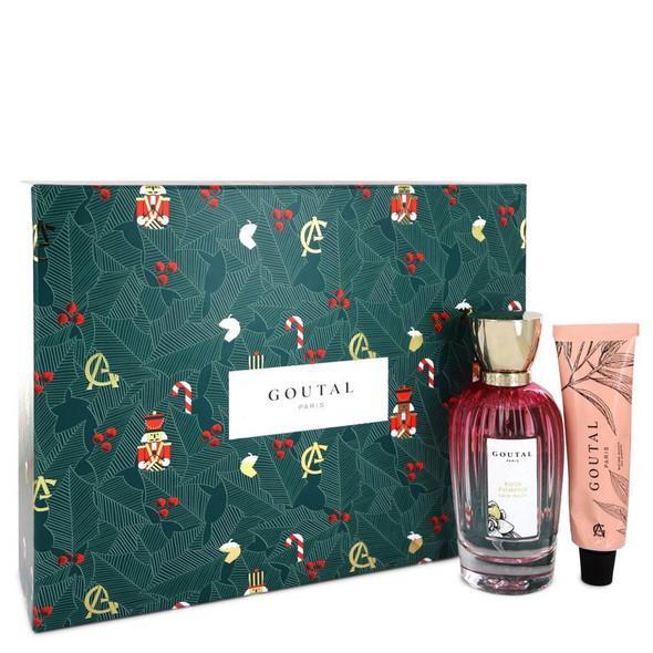 Annick Goutal Rose Pompon by Annick Goutal Gift Set -- 3.4 oz Eau De Toilette Spray + 1.3 oz Garden Hand Balm for Women