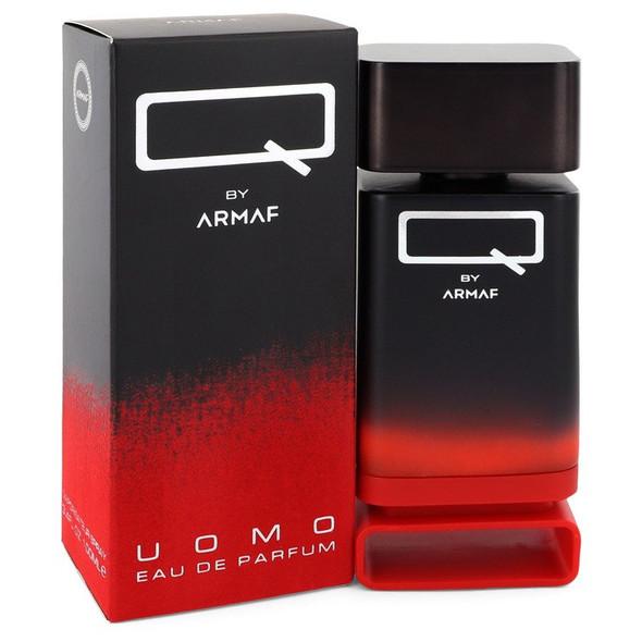 Q Uomo by Armaf Eau De Parfum Spray 3.4 oz for Men