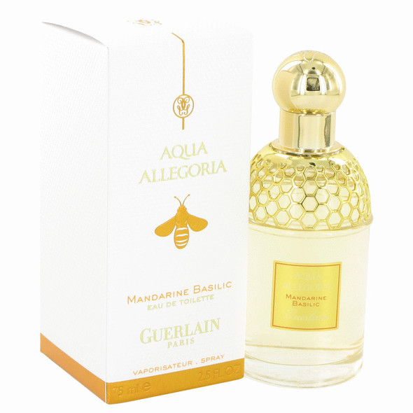 AQUA ALLEGORIA Mandarine Basilic by Guerlain Eau De Toilette Spray 4.2 oz for Women - FR550100