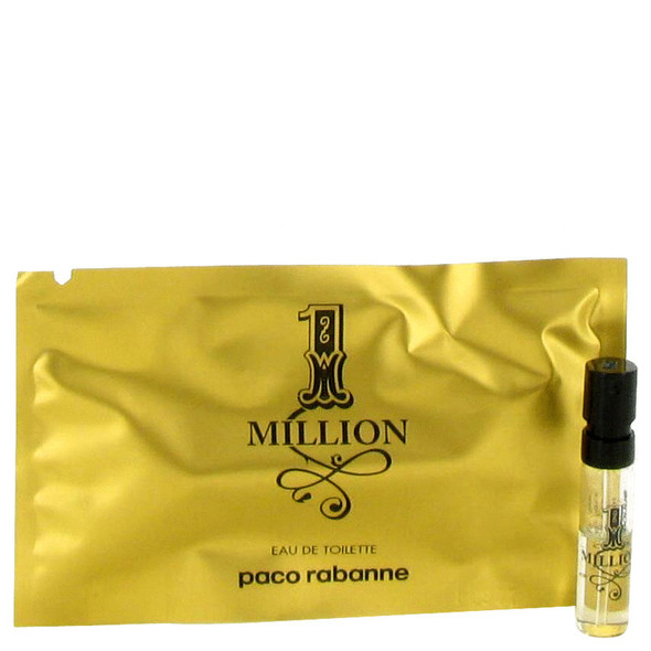 1 Million by Paco Rabanne Vial (sample) .03 oz for Men