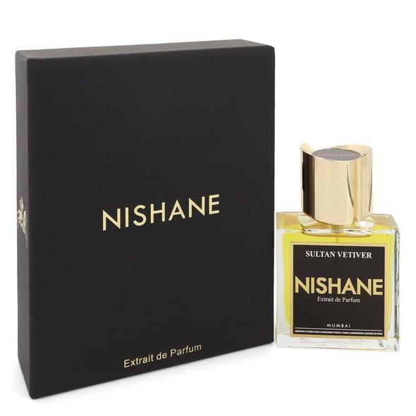 Sultan Vetiver by Nishane Extrait De Parfum Spray 1.7 oz for Men