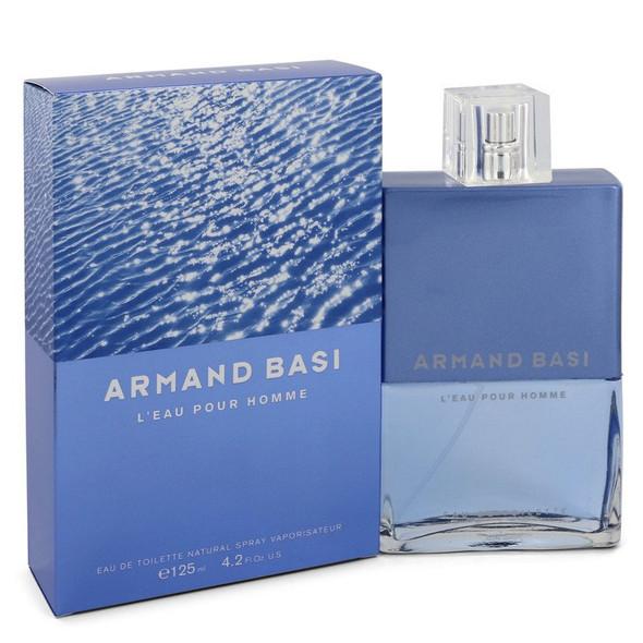Armand Basi L'eau Pour Homme by Armand Basi Eau De Toilette Spray 4.2 oz for Men - FR551794