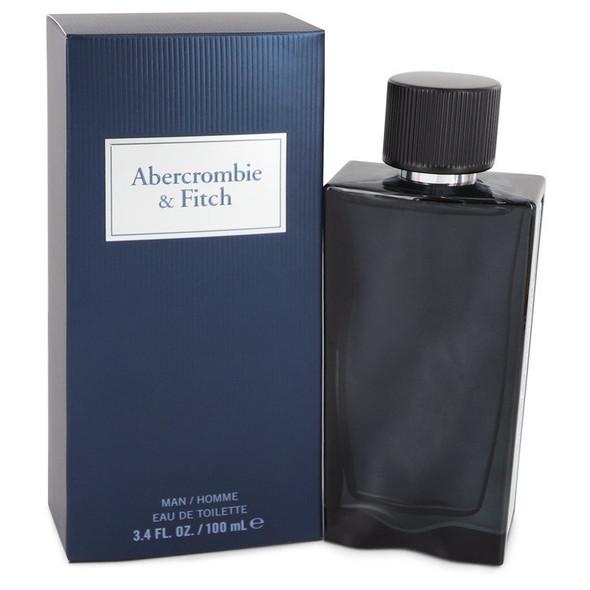 First Instinct Blue by Abercrombie & Fitch Eau De Parfum Spray (unboxed) 3.4 oz for Men