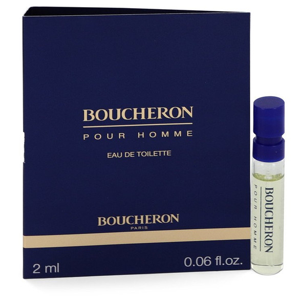 BOUCHERON by Boucheron Vial EDT Spray (sample) .06 oz for Men