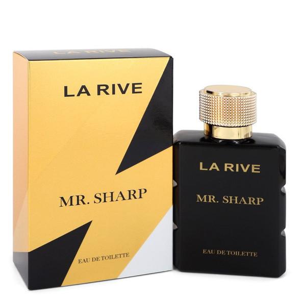 La Rive Mr. Sharp by La Rive Eau De Toilette Spray 3.3 oz for Men