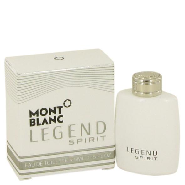 Montblanc Legend Spirit by Mont Blanc Mini EDT .15 oz for Men