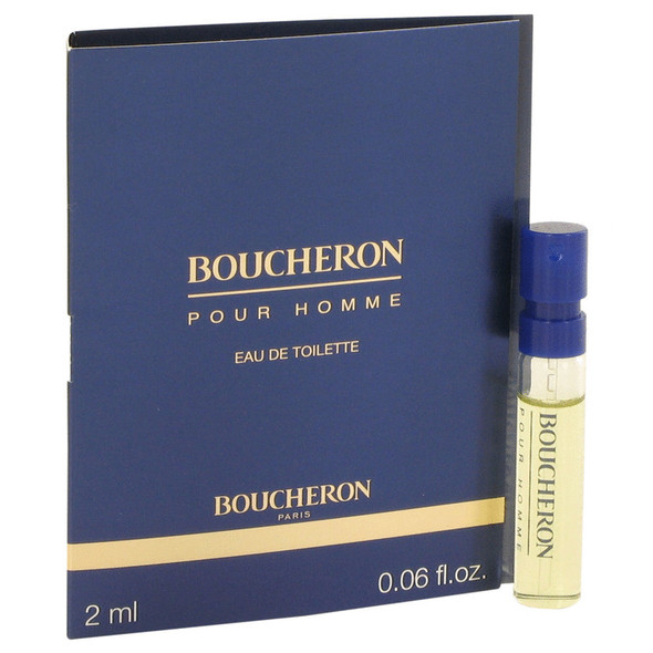 BOUCHERON by Boucheron Vial EDP Spray (sample) .05 oz for Men
