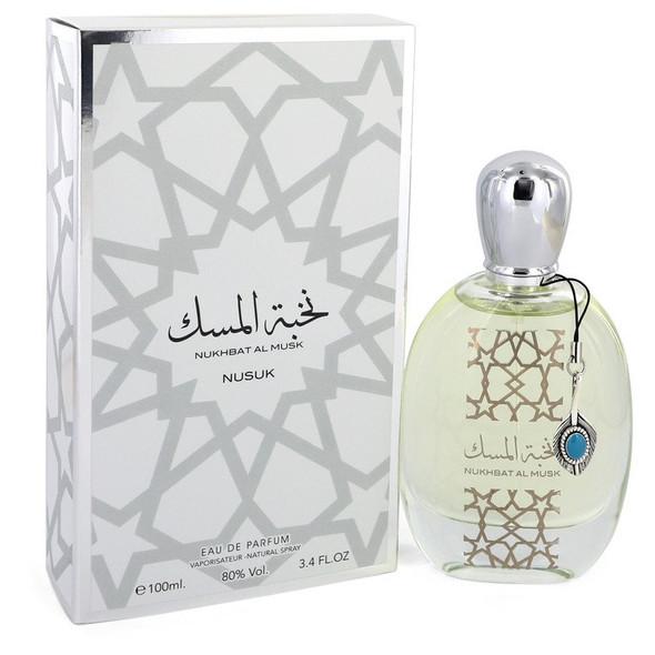 Nukhbat Al Musk by Nusuk Eau De Parfum Spray (Unisex) 3.4 oz for Men