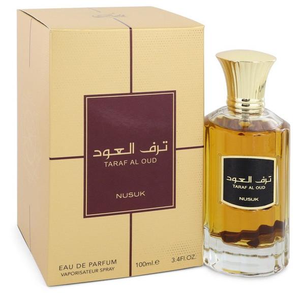 Taraf Al Oud by Nusuk Eau De Parfum Spray (Unisex) 3.4 oz for Men