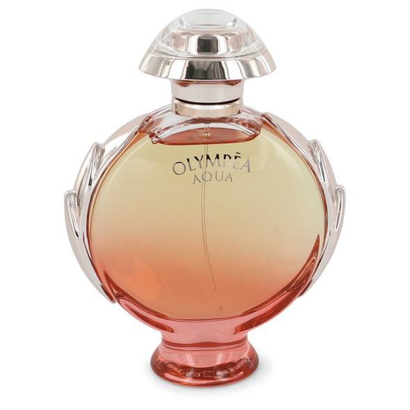 Olympea Aqua by Paco Rabanne Eau De Parfum Legree Spray 2.7 oz for Women - FR545908