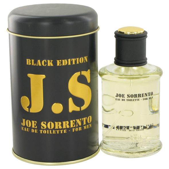 Joe Sorrento Black by Jeanne Arthes Eau De Toilette Spray 3.3 oz for Men