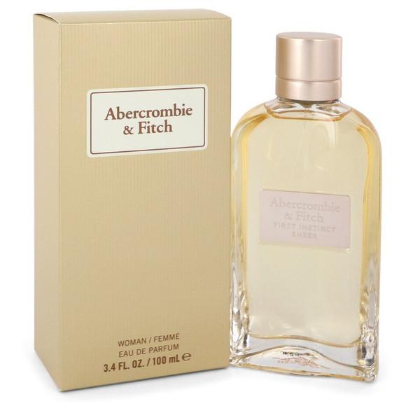 First Instinct Sheer by Abercrombie & Fitch Eau De Parfum Spray 3.4 oz for Women
