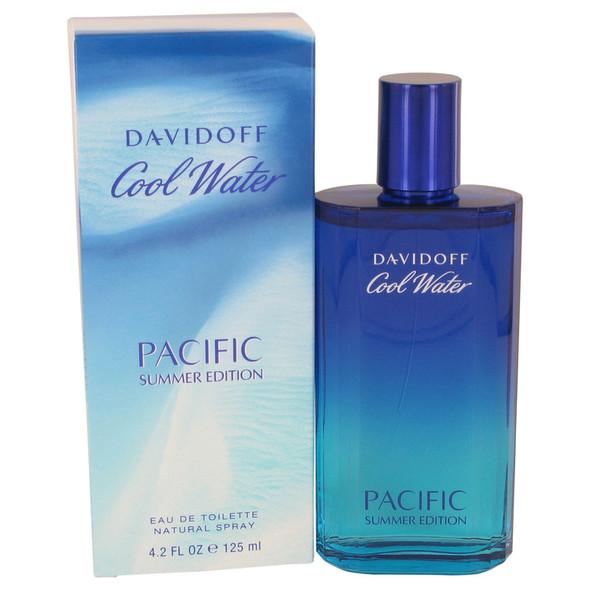 Cool Water Pacific Summer by Davidoff Eau De Toilette Spray 4.2 oz for Men