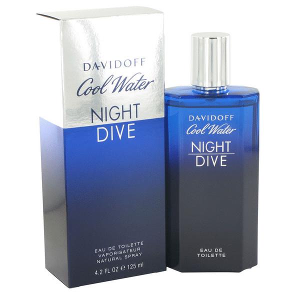 Cool Water Night Dive by Davidoff Eau De Toilette Spray 4.2 oz for Men