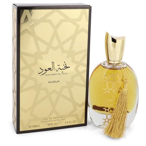 Nukhbat Al Oud by Nusuk Eau De Parfum Spray (Unisex) 3.4 oz for Women