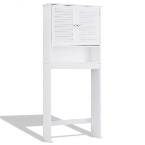 Bathroom Space Saver Toilet Shelves Storage Cabinet - COHW66126