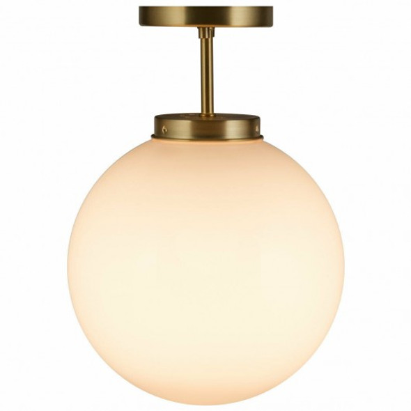 Globe Ceiling Lamp with Acrylic Lamp Shade Bedroom