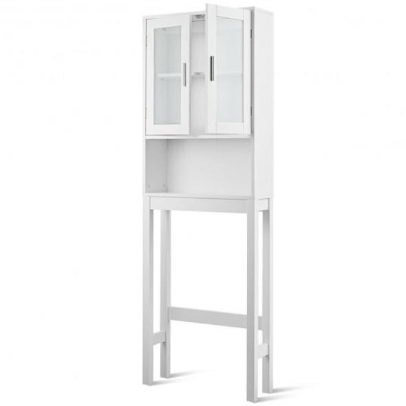 Bathroom Tower Storage Cabinet Organizer