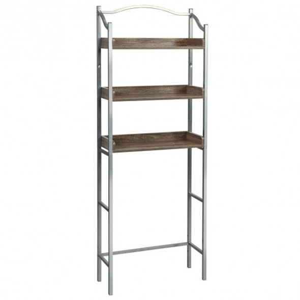 3-Tier Over-The-Toilet Bathroom Spacesaver Storage Rack - COHW66297