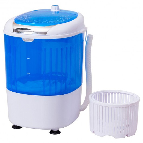 5.5 lbs Portable Mini Semi Auto Washing Machine - COEP24895
