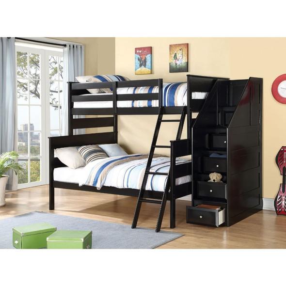 Alvis Twin/Full Bunk Bed