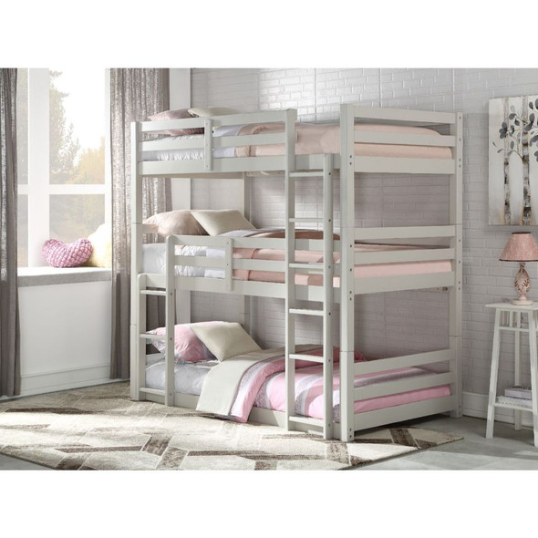 Ronnie Triple Bunk Bed - Twin