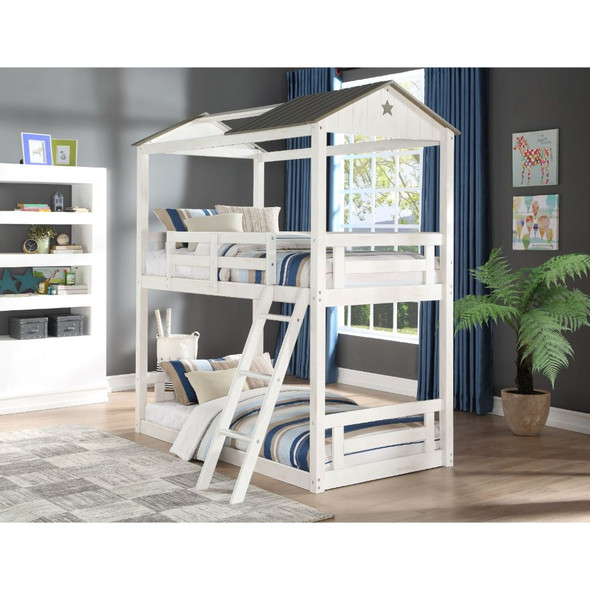 Nadine Cottage Twin/Twin Bunk Bed