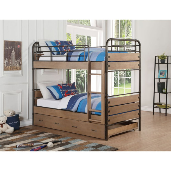 Adams Twin/Twin Bunk Bed & Trundle