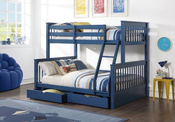 Harley II Twin/Full Bunk Bed