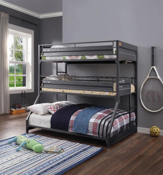 Cargo Twin/Twin/Full Triple Bunk Bed