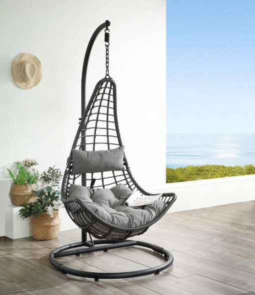 Uzae Patio Swing Chair