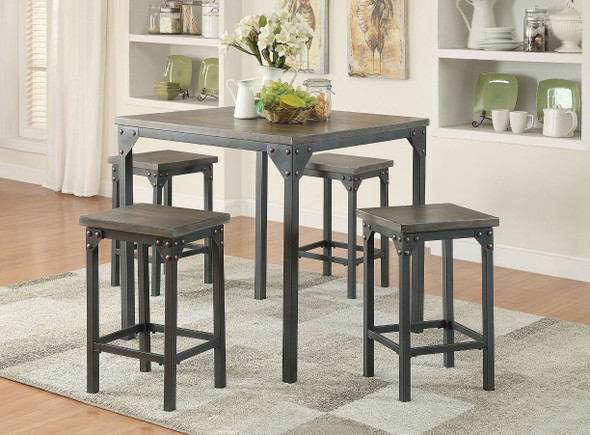 Percie Counter Height Set