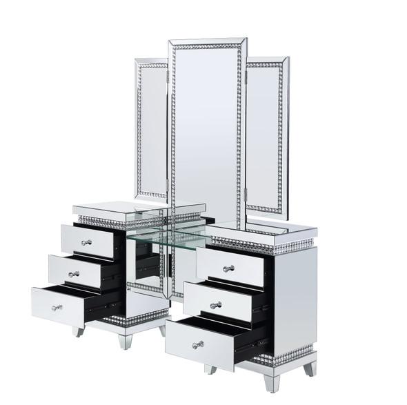 Lotus Vanity Desk