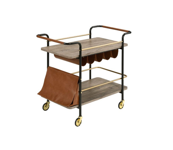 Naude Serving Cart