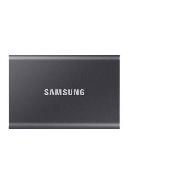 Samsung T7 Touch 1TB USB 3.2 Portable Solid State Drive (Gray)