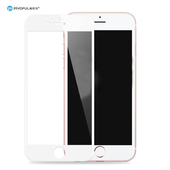 Pivoful PIV-I6TGSW iPhone6 3D Tempered Glass Film (White)