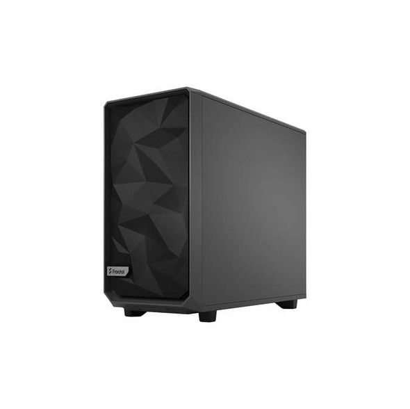Fractal Design FD-C-MES2A-04 Meshify 2 Gray ATX Flexible Light Tinted Tempered Glass Window Mid Tower Computer Case (Gray)