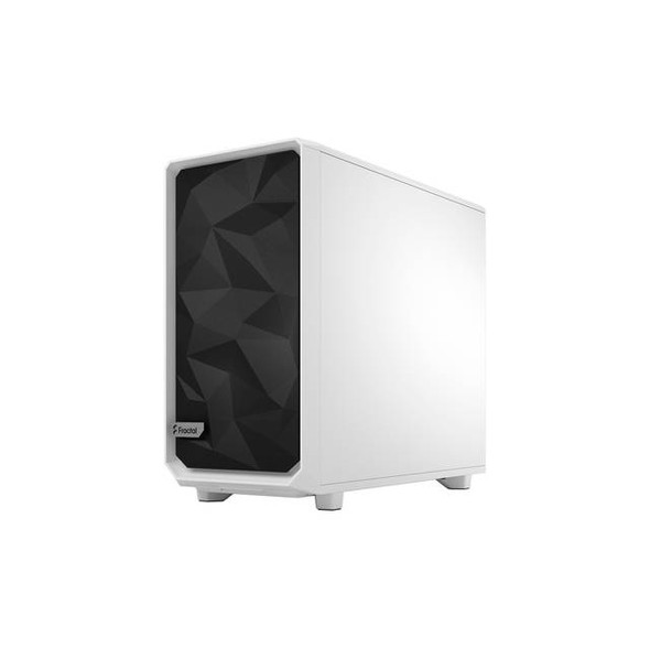 Fractal Design FD-C-MES2A-05 Meshify 2 White ATX Flexible Tempered Glass Window Mid Tower Computer Case (White)