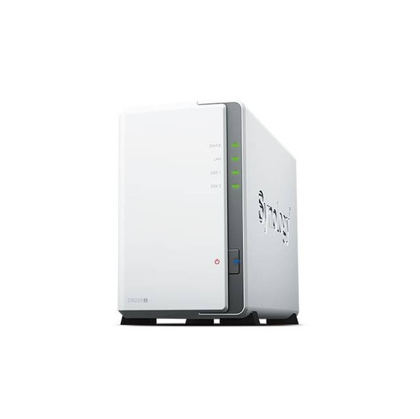 Synology DiskStation DS220j 2-Bay NAS for Home & Personal Users