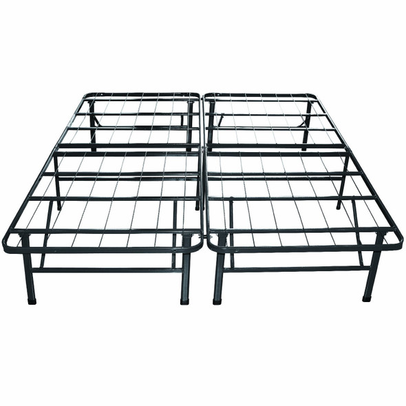 Twin Extra Long Metal Platform Bed Frame with Storage Space