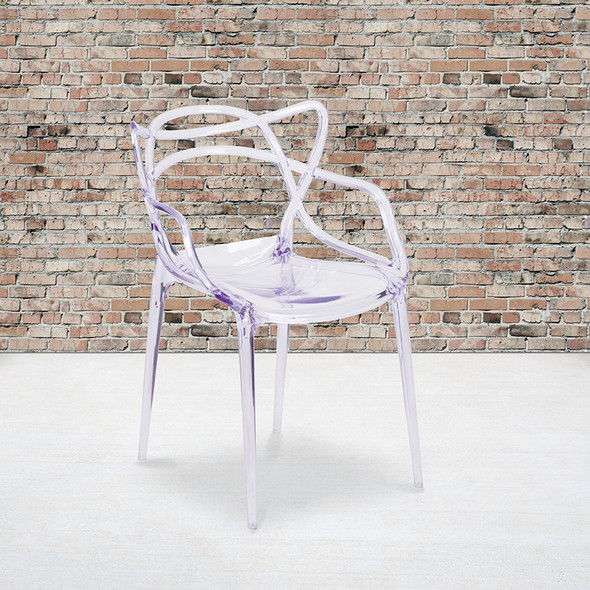 Clear Stacking Side Chair