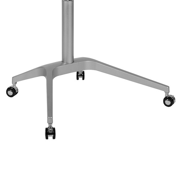 Black Mobile Sit To Stand Desk