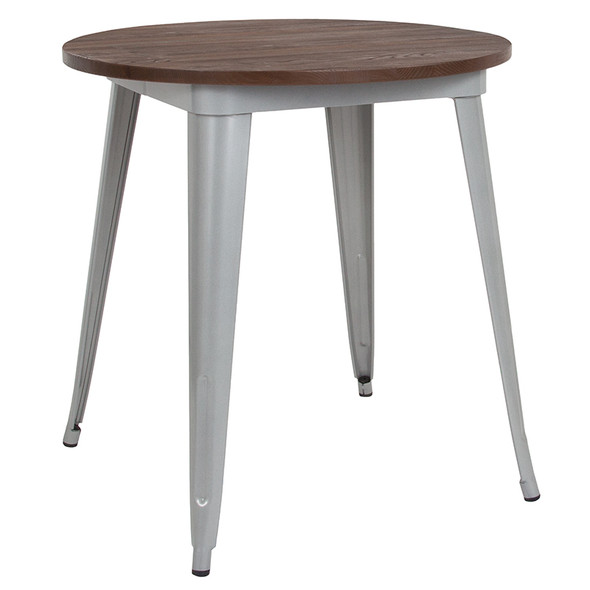 26rd Silver Metal Table