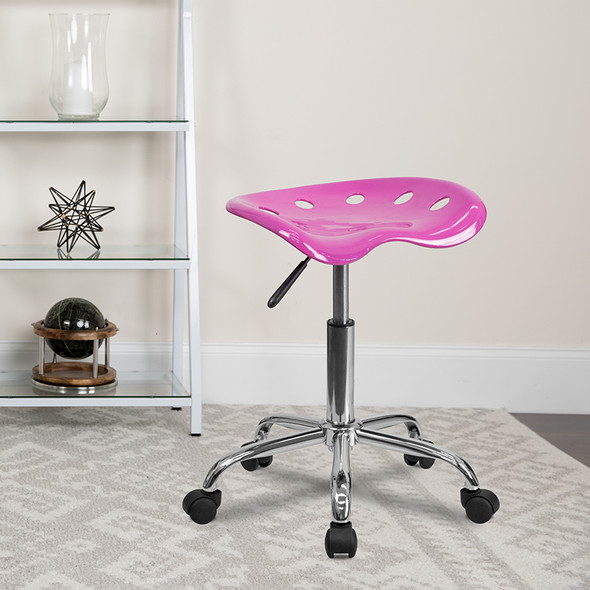 Candy Heart Tractor Stool