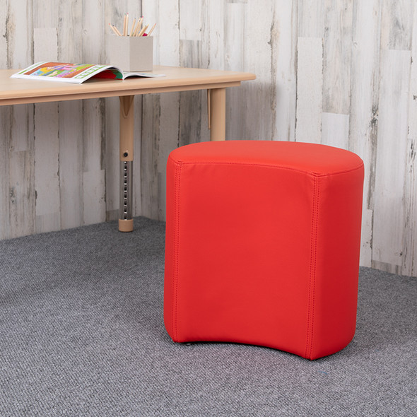 """18"""" Soft Seating Moon-red"""