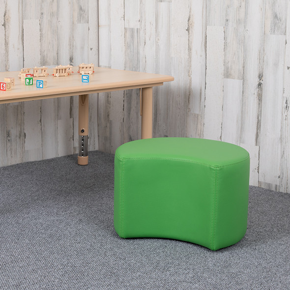 """12"""" Soft Seating Moon-green"""