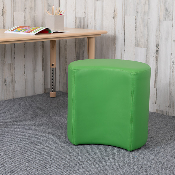 """18"""" Soft Seating Moon-green"""