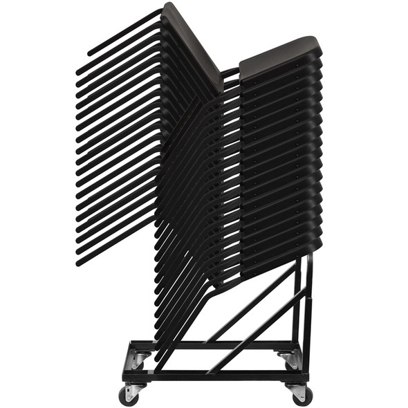Black Stack Chair Dolly - FLHF-MUS-DOLLY-GG